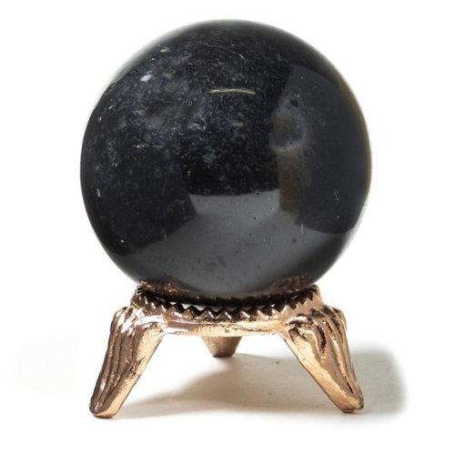 Bol zwarte toermalijn 4 cm
