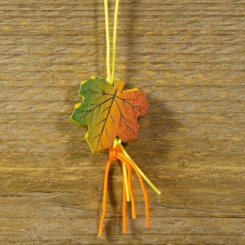 Gelukshanger herfstblad 10 stuks