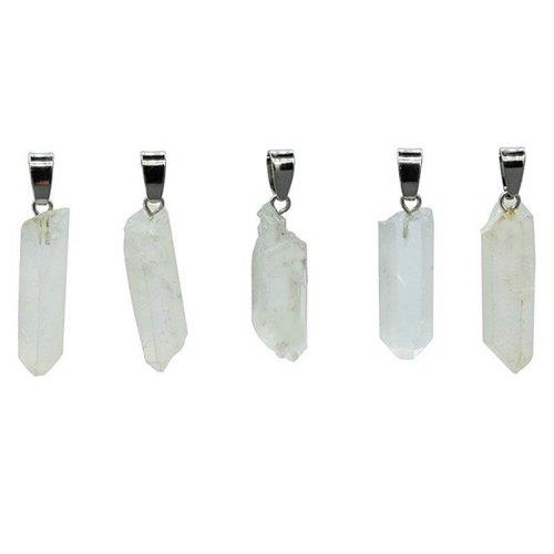 Hanger bergkristal facet