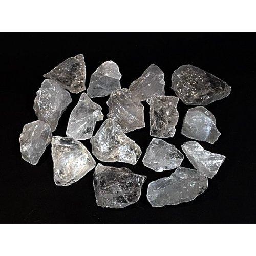 Brokje bergkristal ruw 90-100 gram A kwaliteit