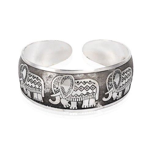 armband olifant metaal