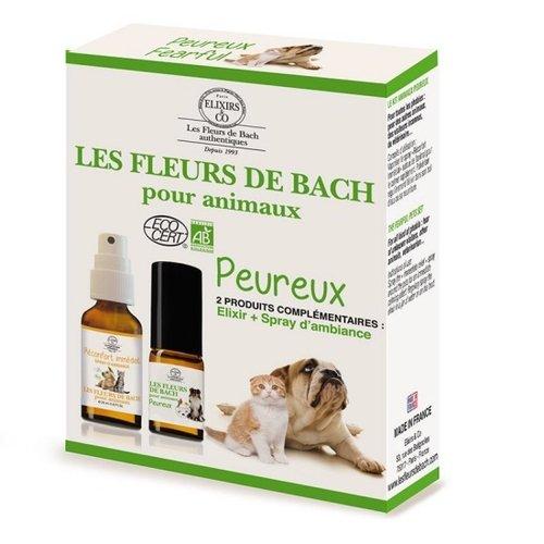 Bach bloesems voor angstige huisdieren set