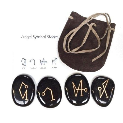 Aartsengel symbolen set onyx