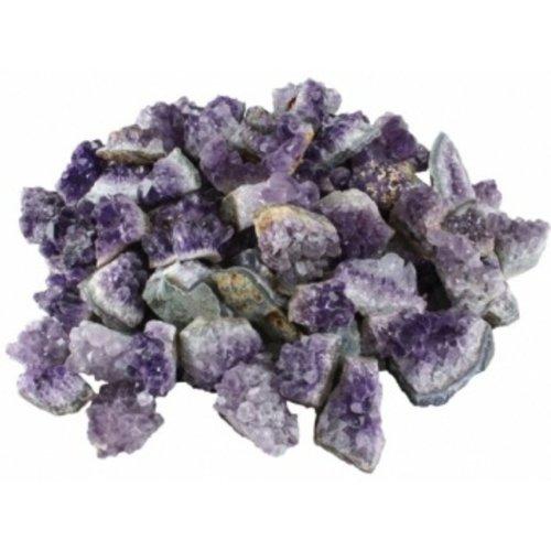 Brokjes Amethyst ruw 100 gram