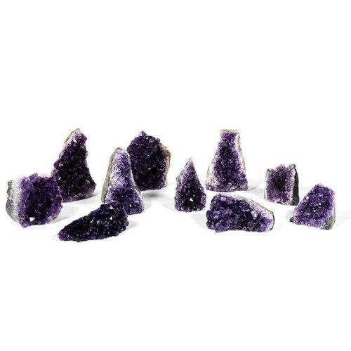 Amethyst clusters A kwaliteit 1000 gram