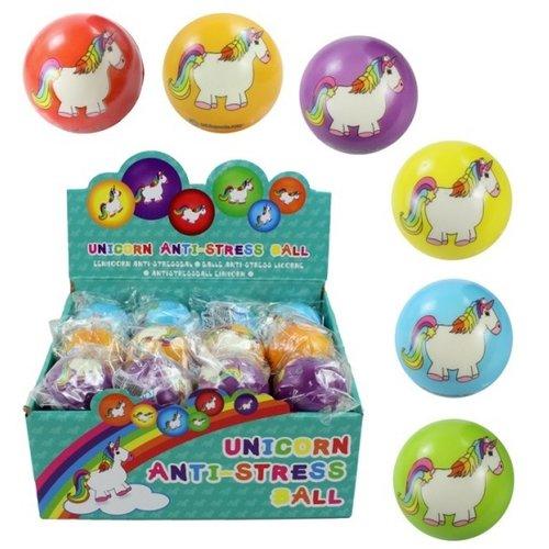 Ball antistress eenhoorn