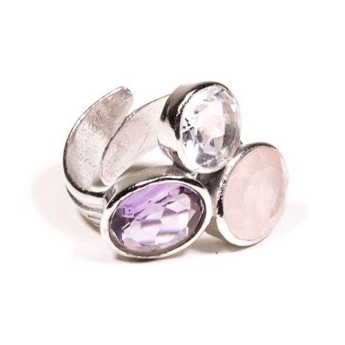 Ring gouden driehoek mineralen