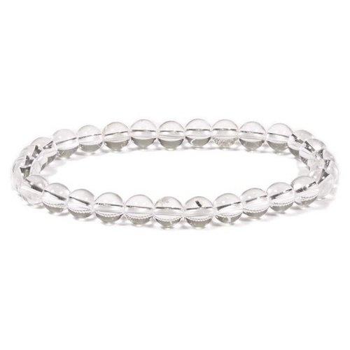 Fijne armband bergkristal 4 mm
