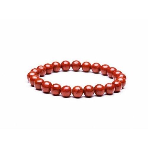 Armband jaspis rood 6 mm