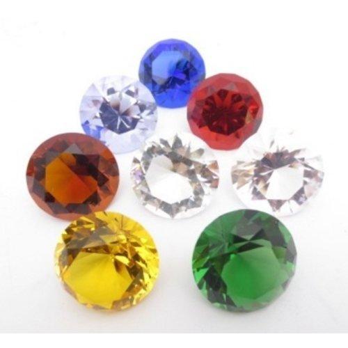 Diamant Set gekleurd 3 cm