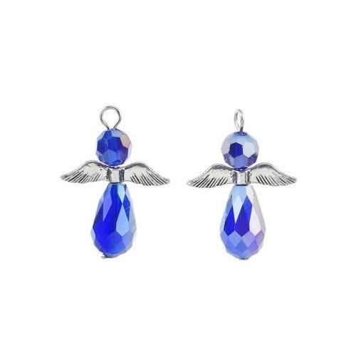 Engel hanger blauw