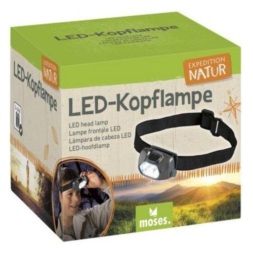Expeditie natuur LED hoofdlamp