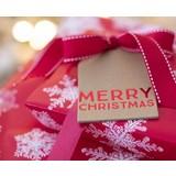 Organza zakjes Kerst