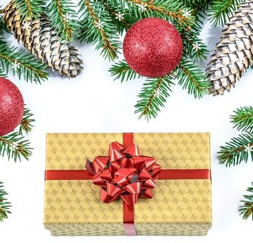 Kerst cadeauverpakkingen