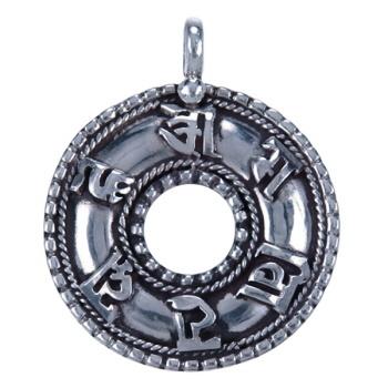 Boeddhistische zilveren sieraden