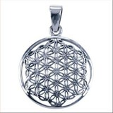 Flower of life zilver