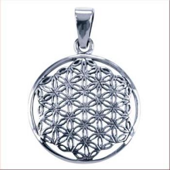 Flower of life zilver