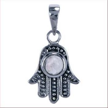 Hand van Fatima zilver