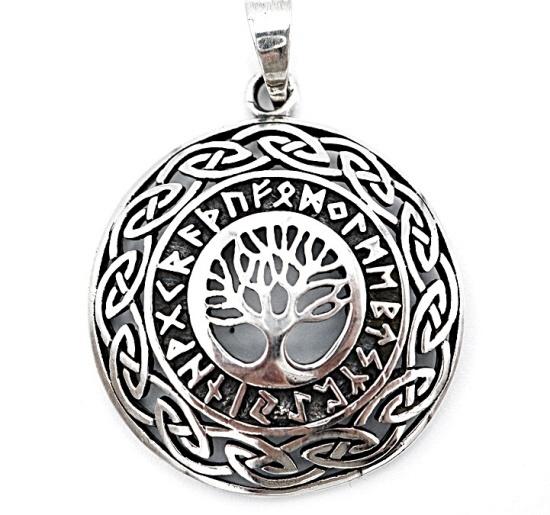 Levensboom van zilver