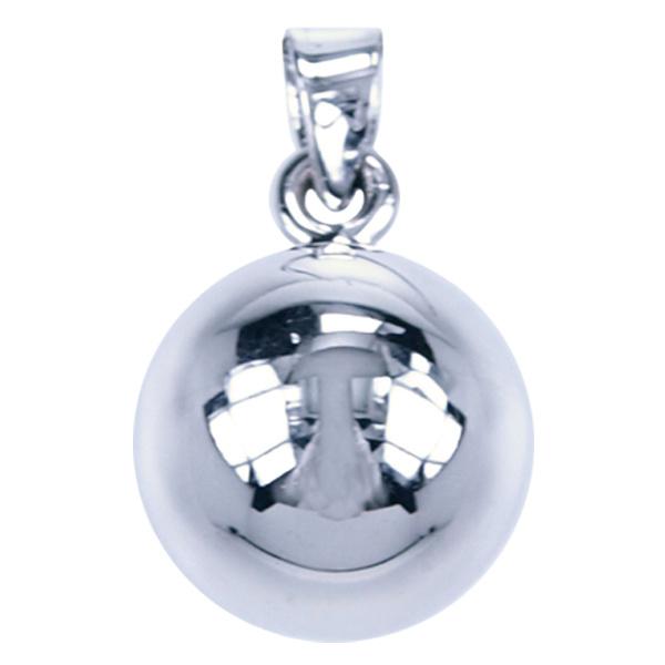 Zwangerschapsbel zilver