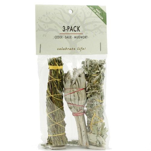 3 Smudge sticks