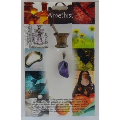 Amethist gezondheidssteen