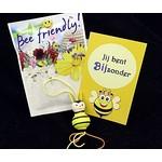 Bijen cadeau - Jij bent bijzonder - in organzazakje