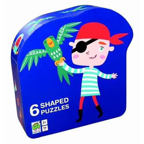 Deco puzzel piraat