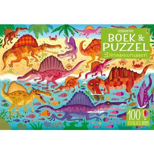 Dinosaurussen Boek & puzzel