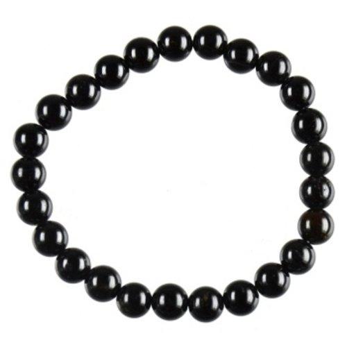 Armband zwarte Toermalijn 6 mm