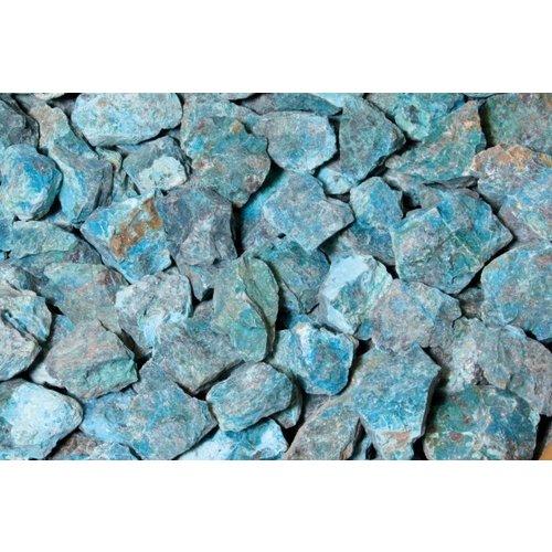 Chrysocolla ruw 225-240 gram