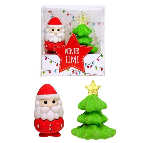 Gum Kerstman met Kerstboom