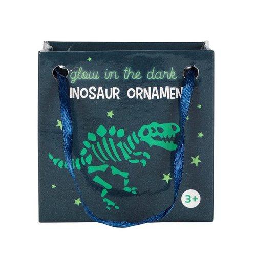 Dino in tasje Glow in the Dark