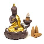 Backflow waterval wierookbrander Boeddha