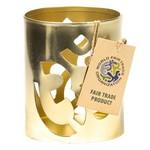 Fair Trade Sfeerlicht Ohm goudkleur