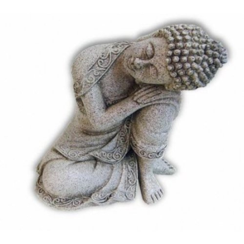 Boeddha Peaceful 19 cm