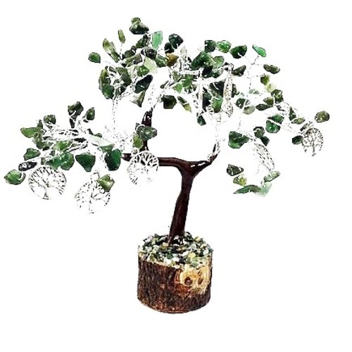 Geluksboom 160 steentjes met tree of life symbool