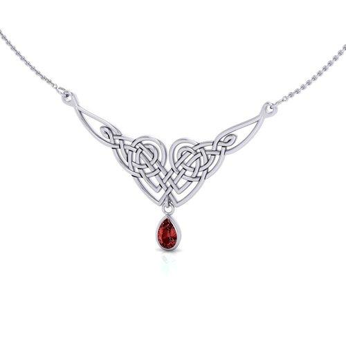 Celtic Knotwork zilveren collier