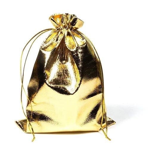 Cadeautasje goudkleur groot