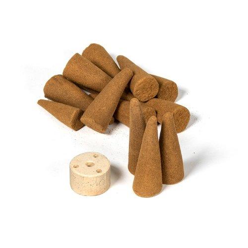 Biologische masala wierook Frankincense wierookkegels