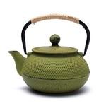 Japanse stijl Tetsubin groene gietijzeren theepot