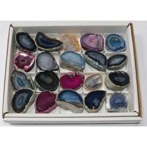 Agaat steen gepolijst