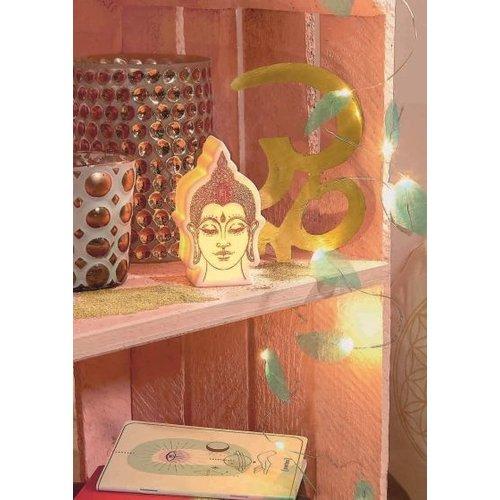 Buddha LED lamp