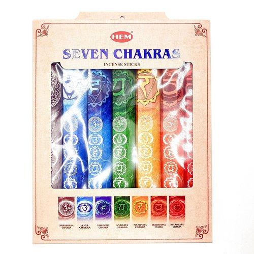 7 chakra wierook set