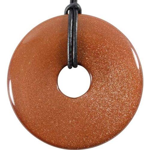 Donut goudsteen 5 cm
