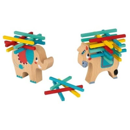 Balansspel ezel hout
