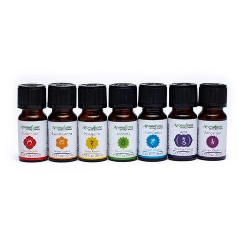 Chakra essentiële olie mix set van 7