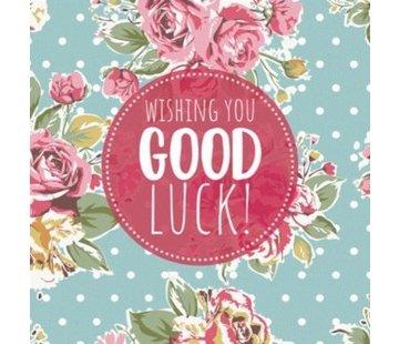 Cadeau boekje Wishing you good Luck!