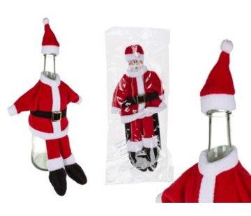 Kerstmanpak Flesovertrek
