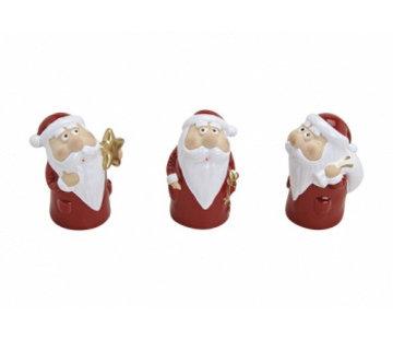 Kerstman van keramiek